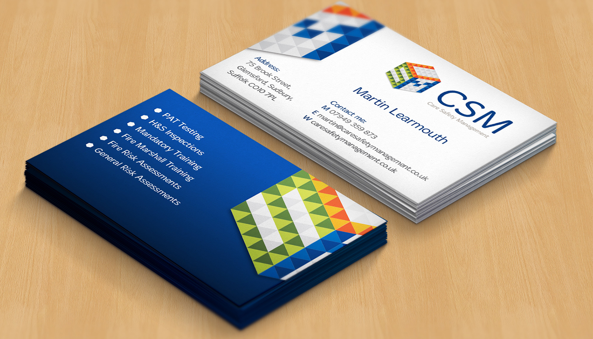 Are you getting some new business cards designed and printed?