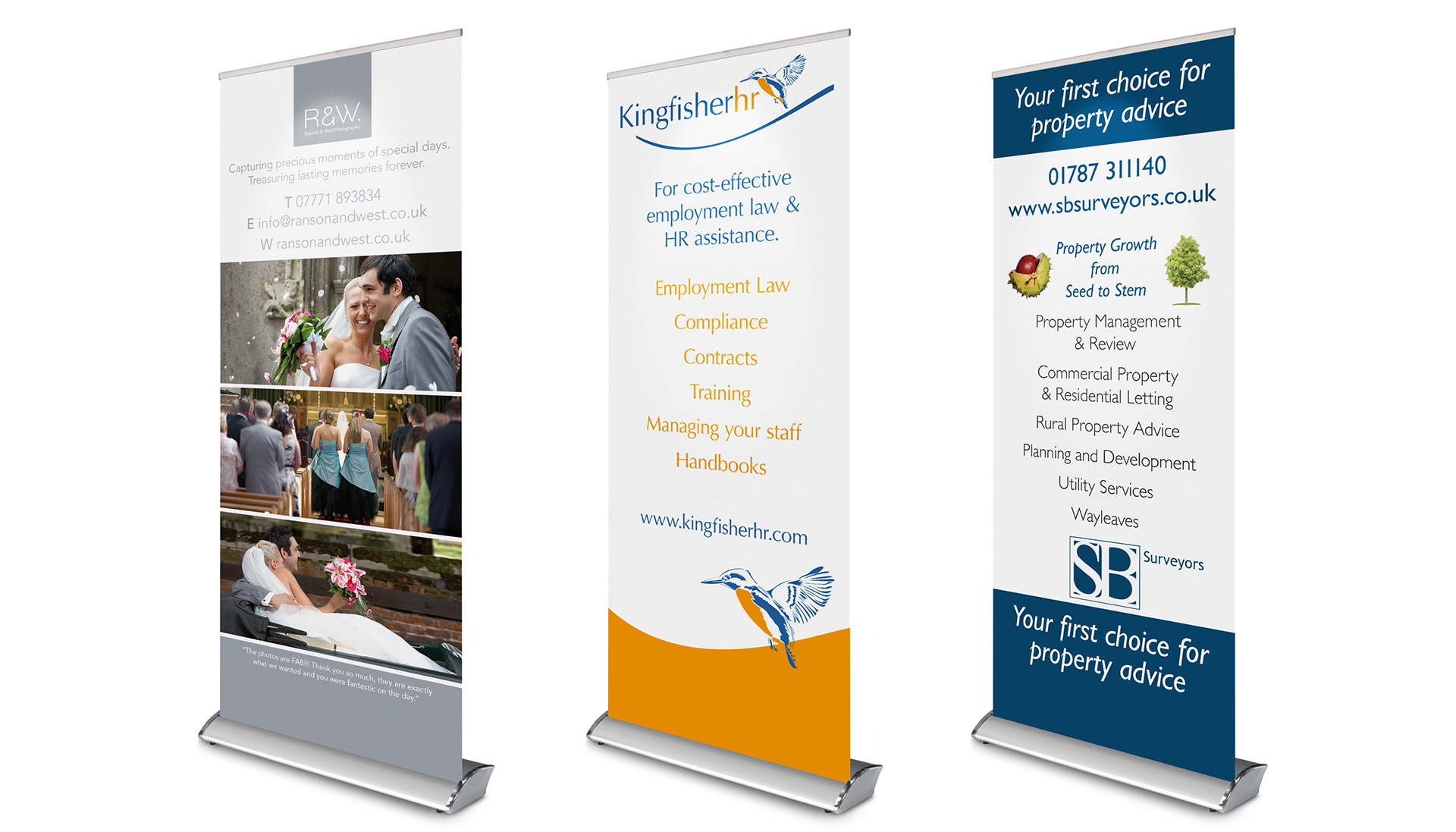 What should you look for when buying a roller banner?