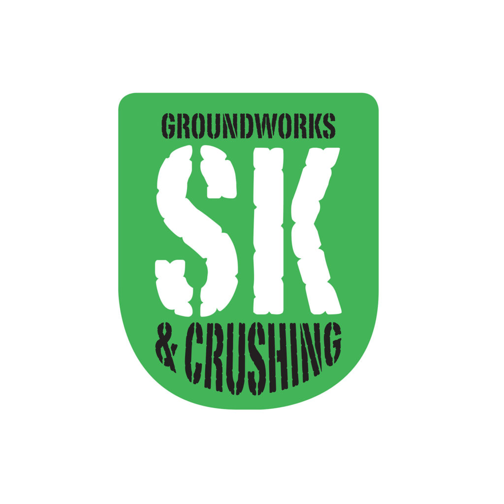 SK Groundworks and Crushing logo