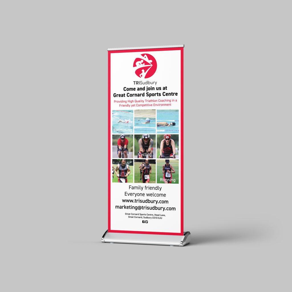 Roller banner for TRISudbury