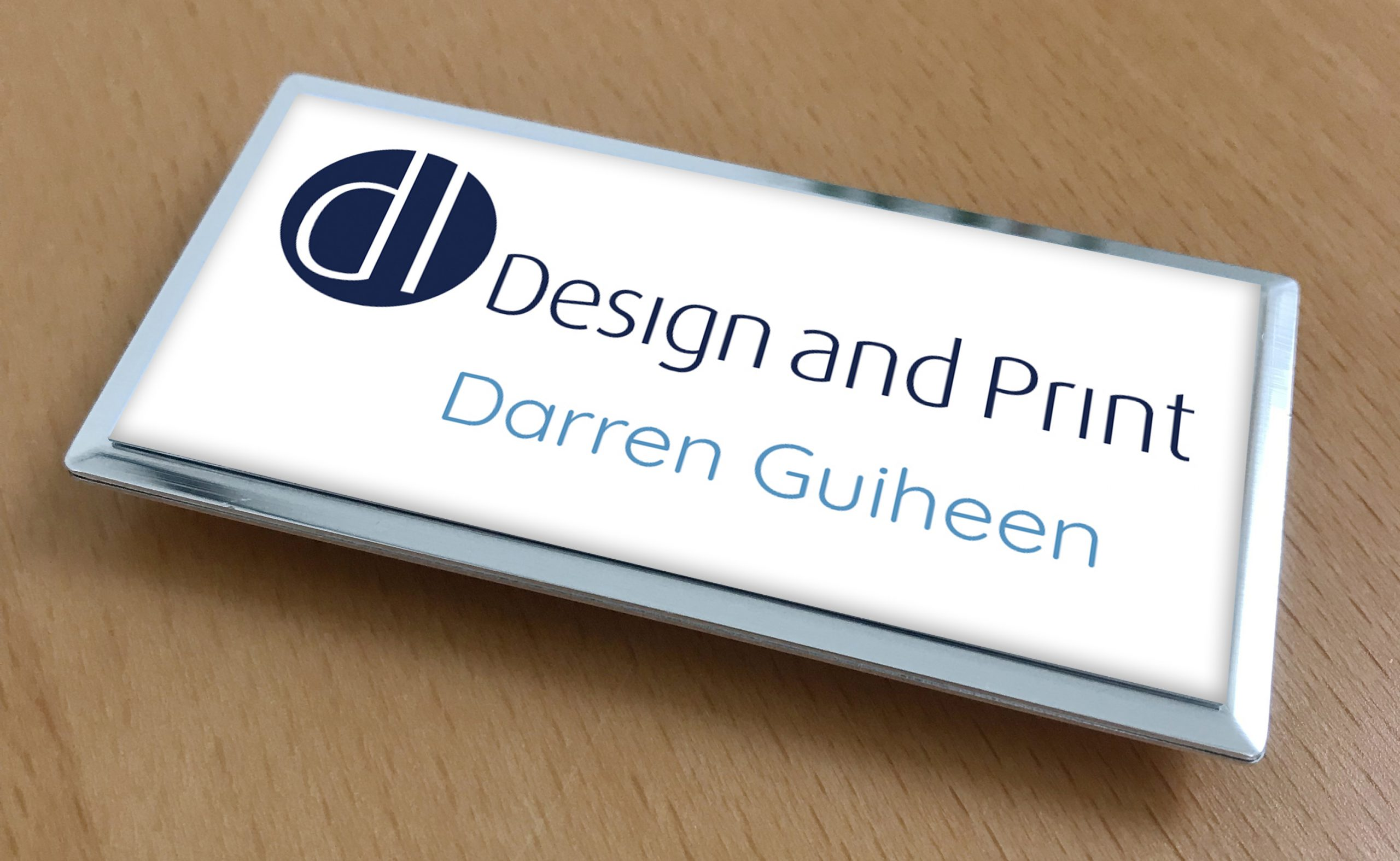 Make a great impression at a networking event with our high quality, personalised name badges