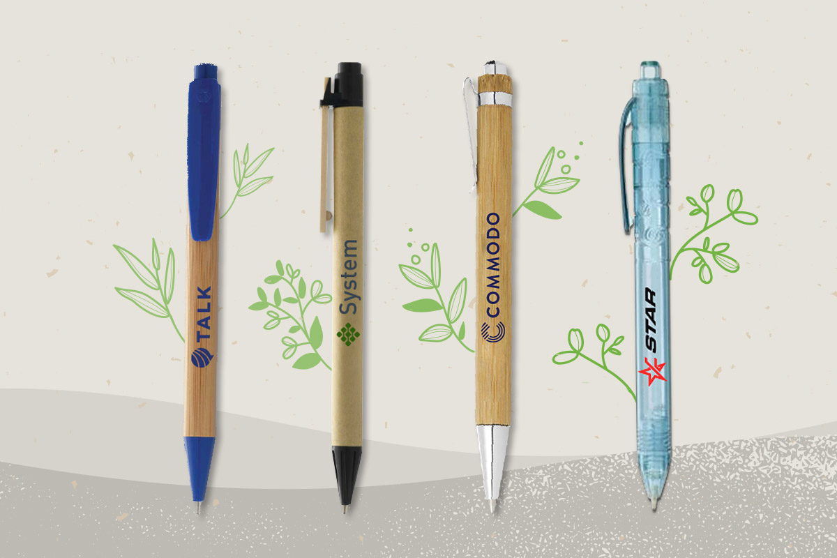 Eco friendly pens to help you go green