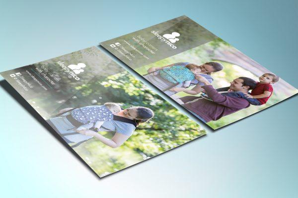 Printed postcards A6 for SleepyNico