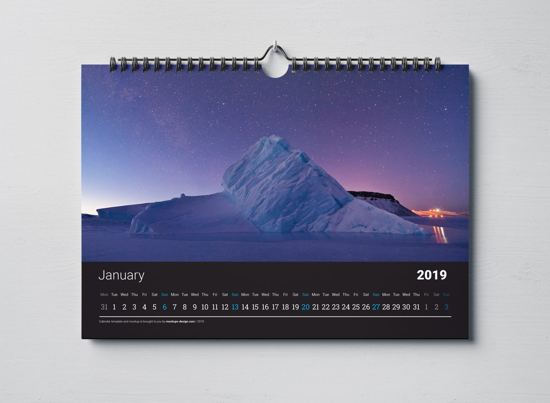 Customised calendar design and print