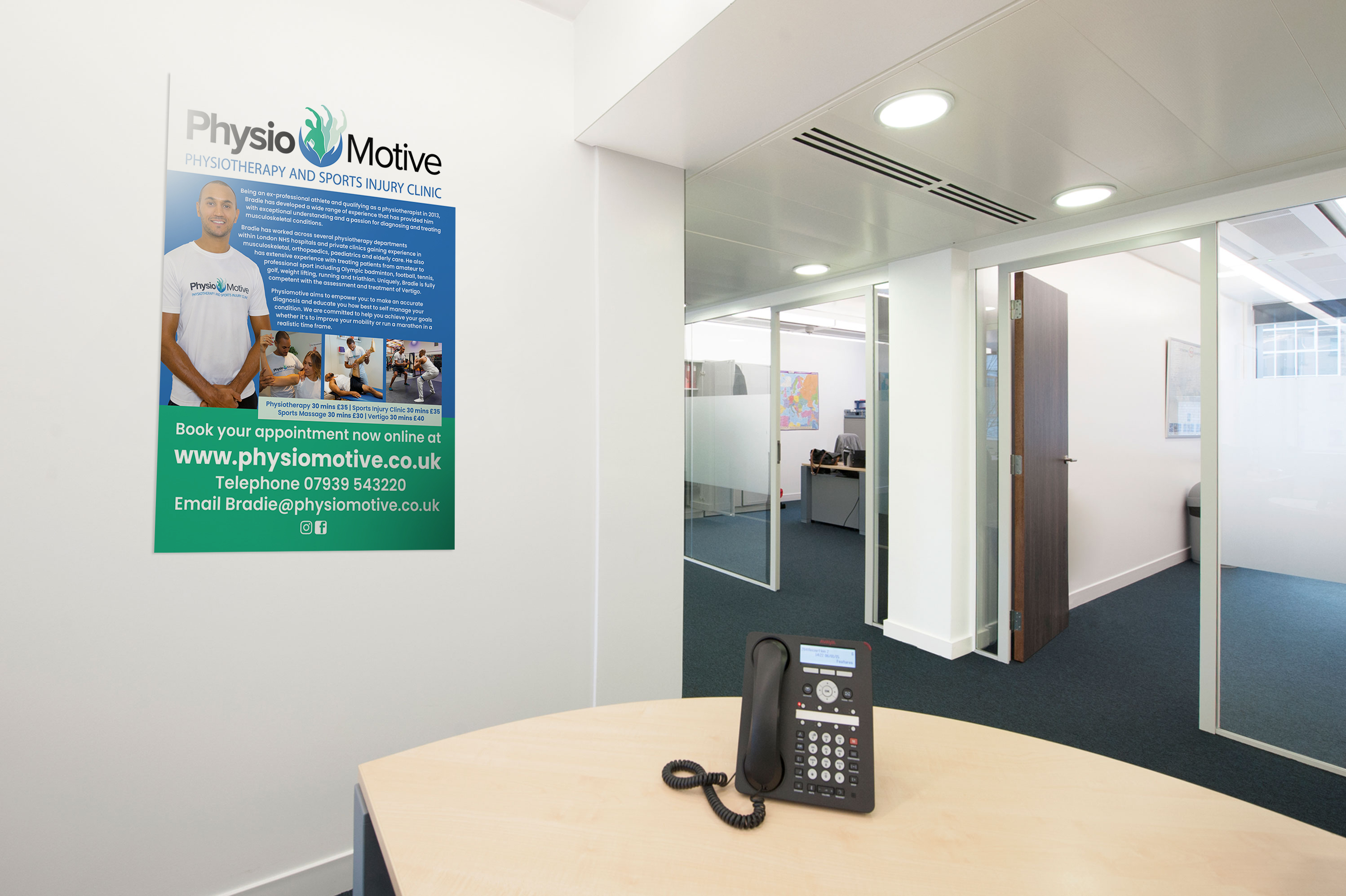 Helping Physio Motive promote their brand