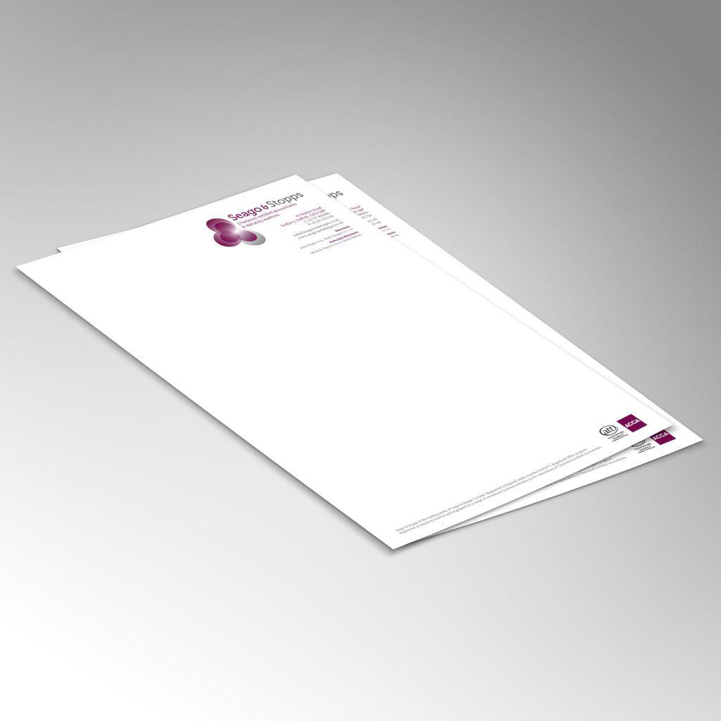Seago & Stopps A4 letterhead