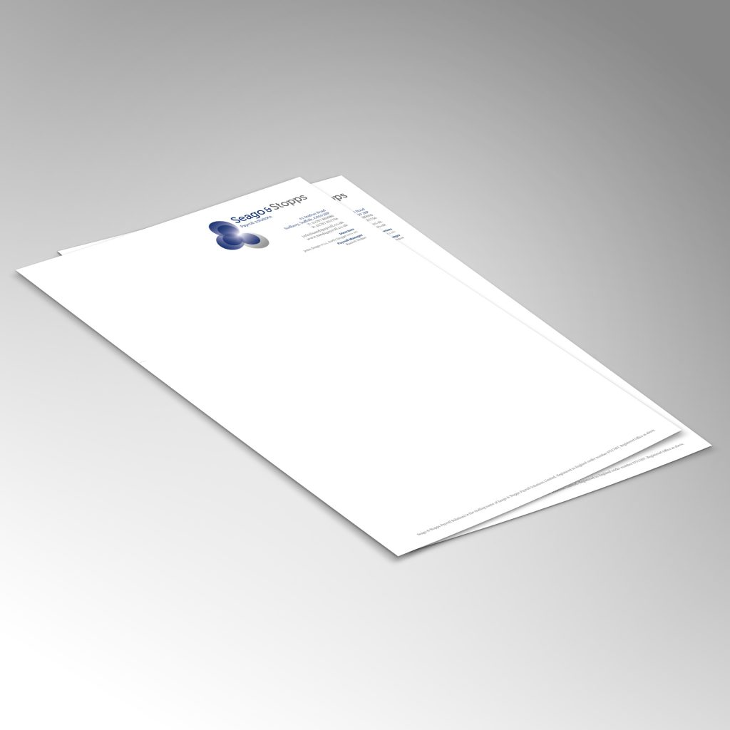 Payroll Solutions A4 letterhead