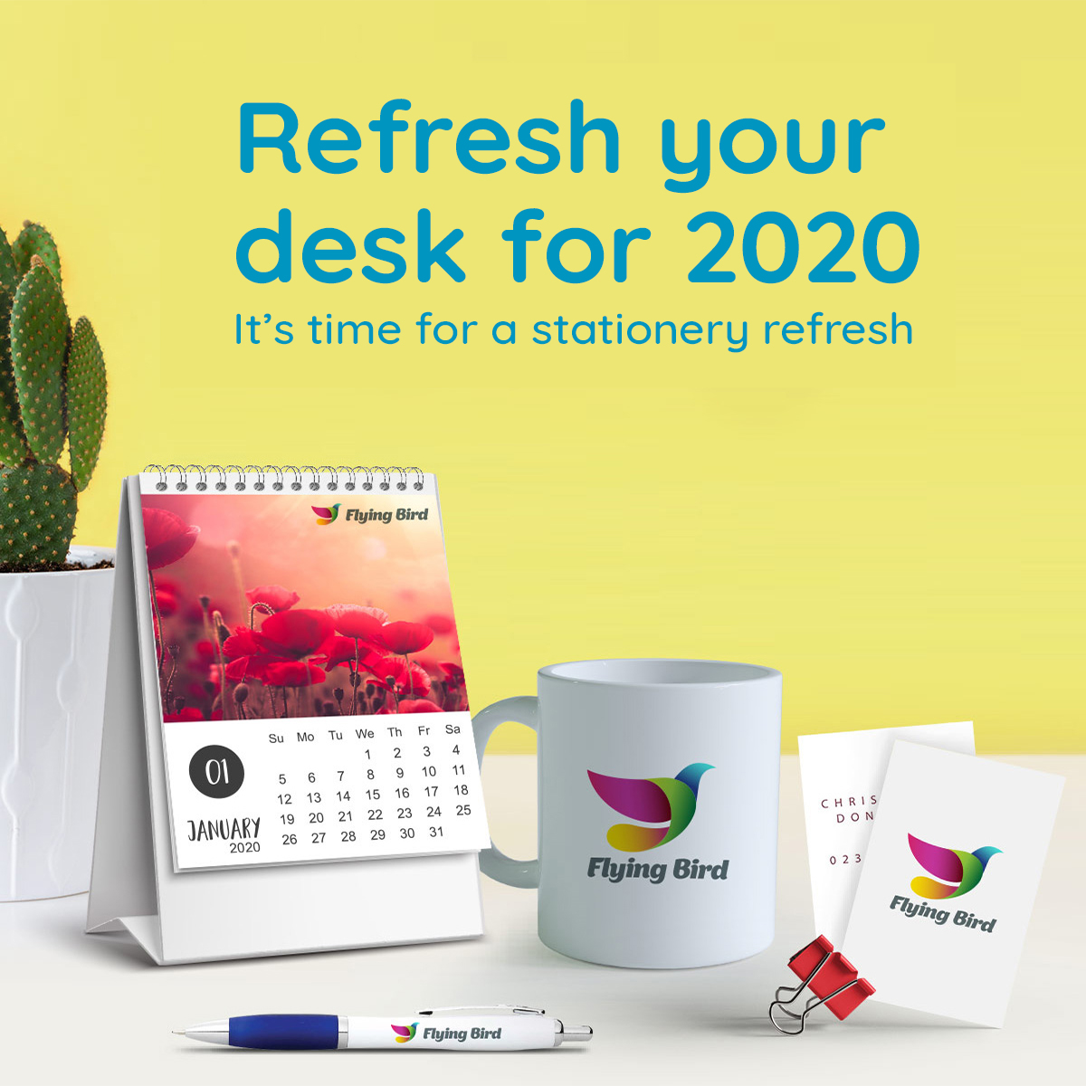 Refresh stationery on your desk for 2020