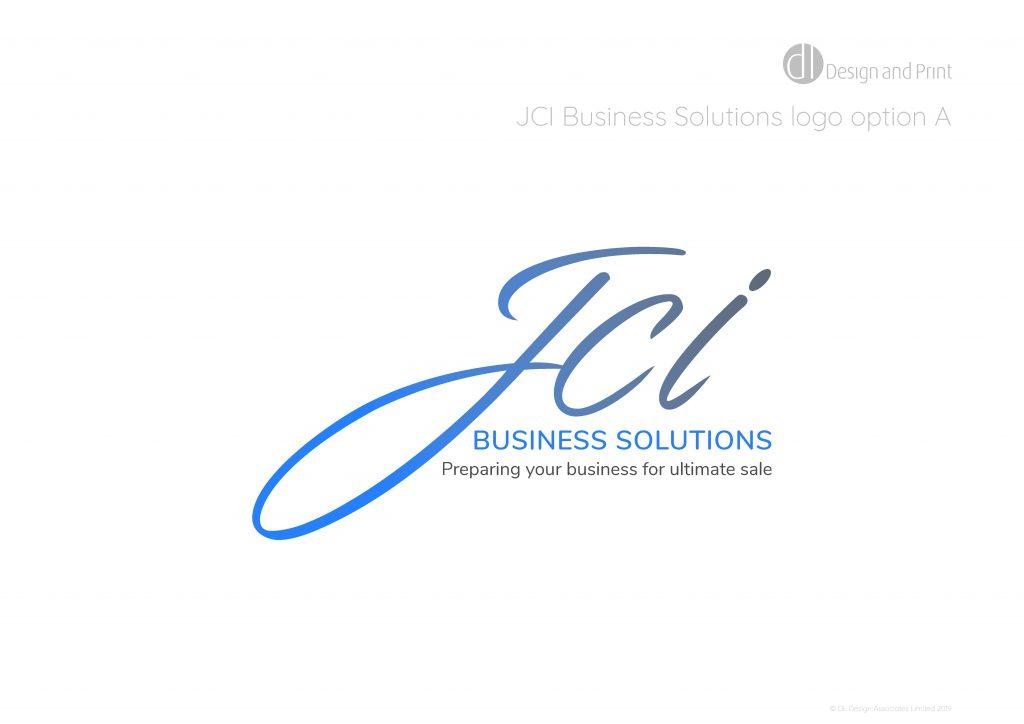 JCI business solutions logo option a
