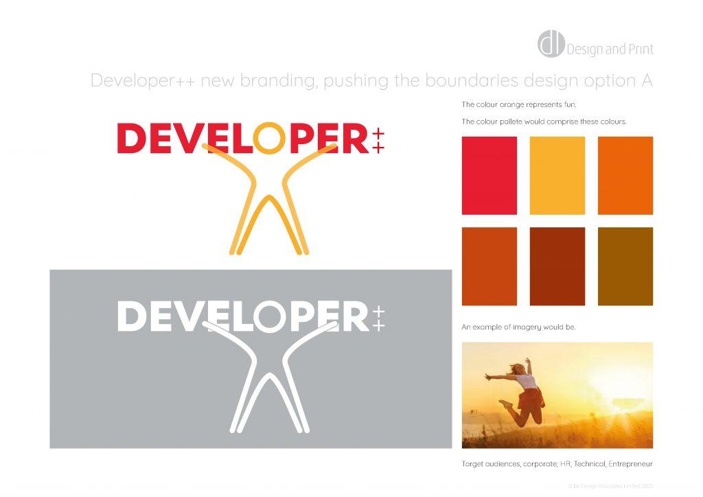 Developer++ new branding pushing the boundaries design option a