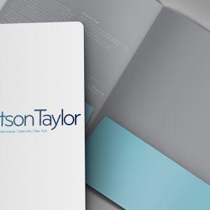 Robertson Taylor presentation folder