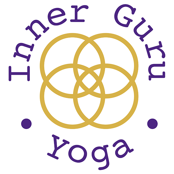 Inner guru yoga logo after it has been re drawn
