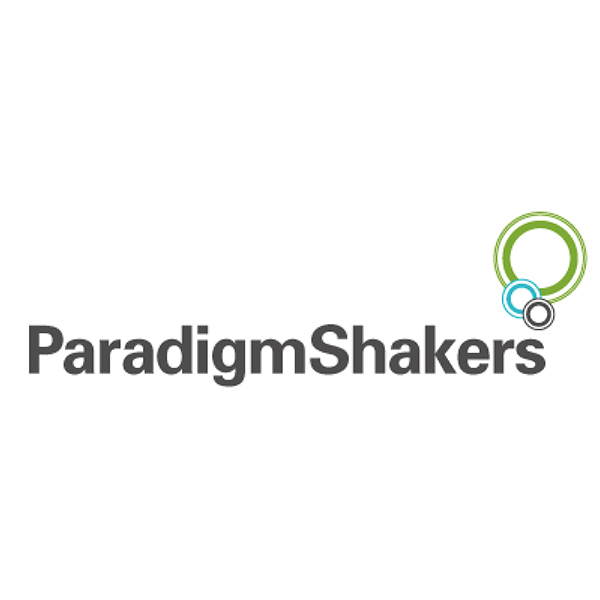 Paradigm shakers logo before it has been re drawn
