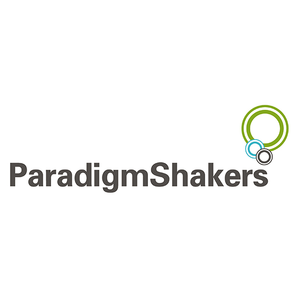 Paradigm shakers logo after it has been re drawn