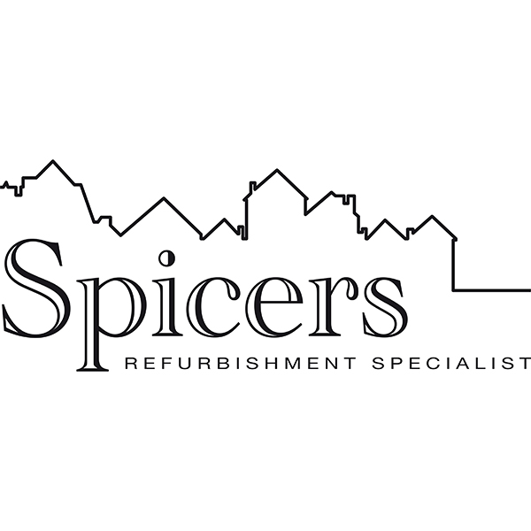 Spicers logo after it has been re drawn