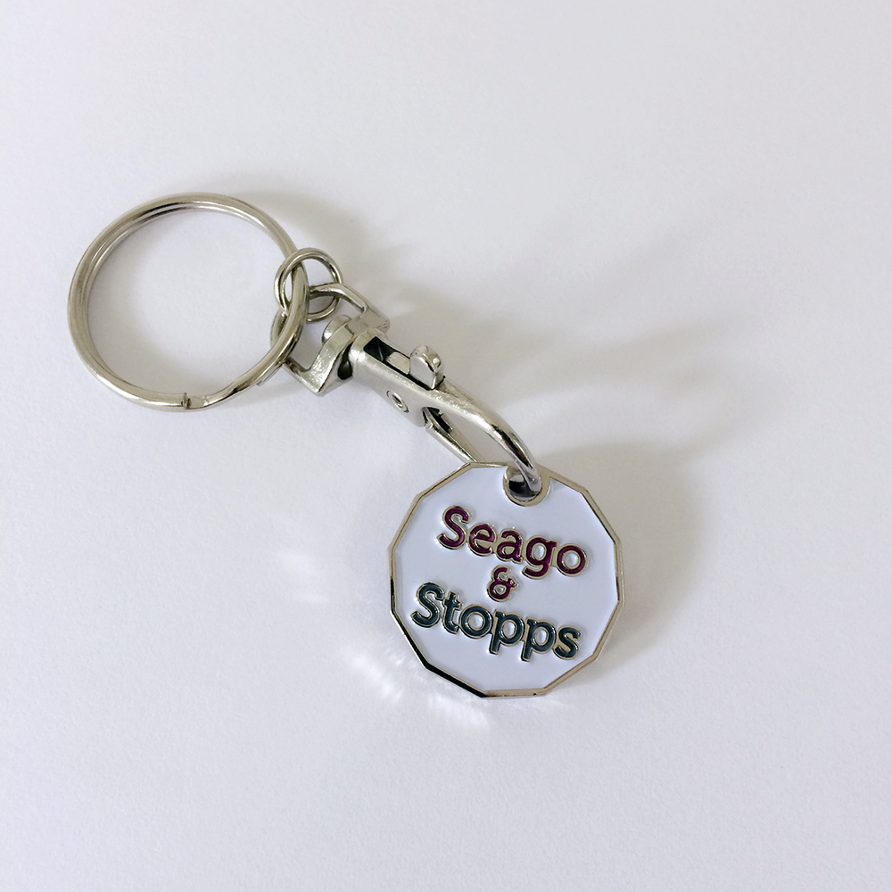 Seago and Stopps trolley coin