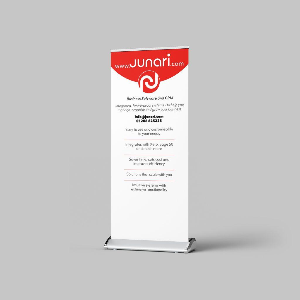 Junari Roller banner