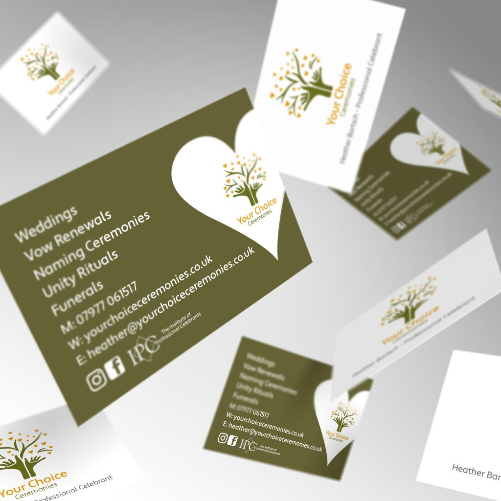 Your Choice Ceremonies business card