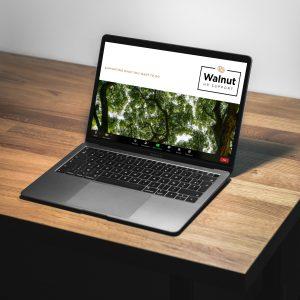Walnut HR Zoom virtual background