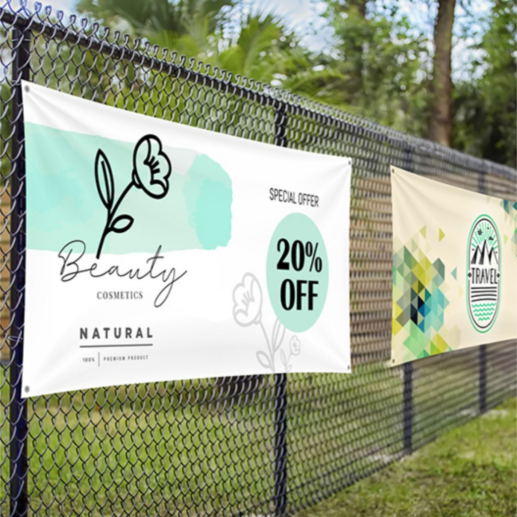 Five creative tips for an engaging banner. Less is more.