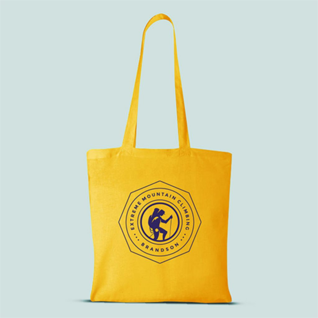 Promotional products branded bags
