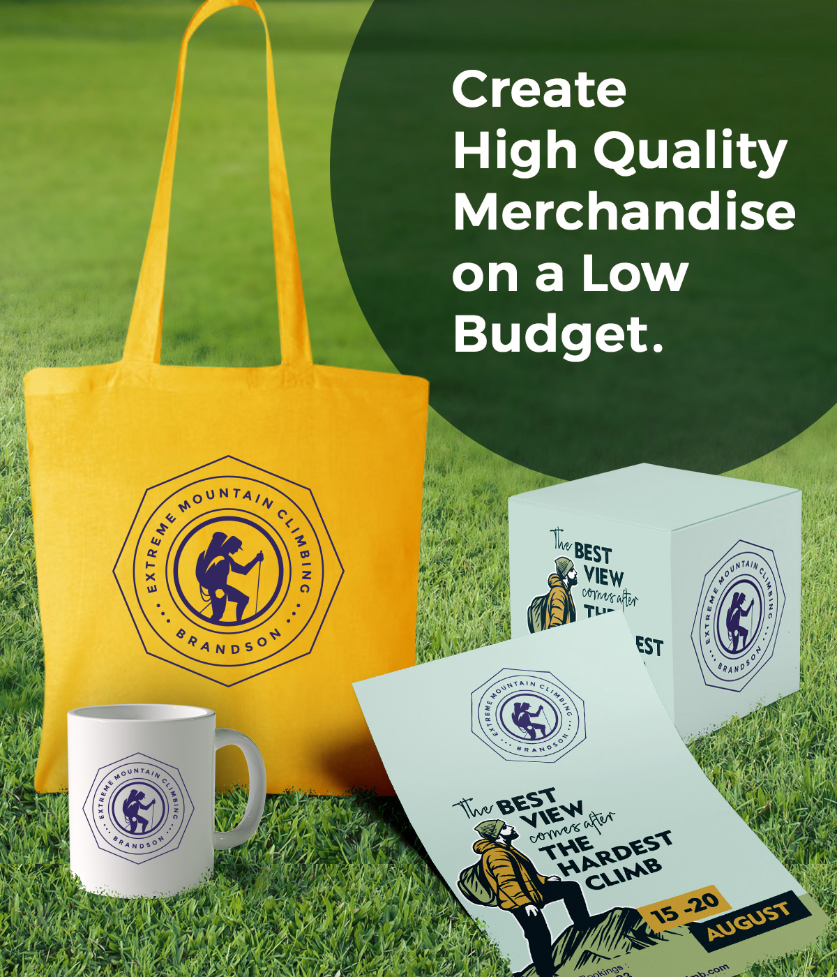 Promotional products branded your way