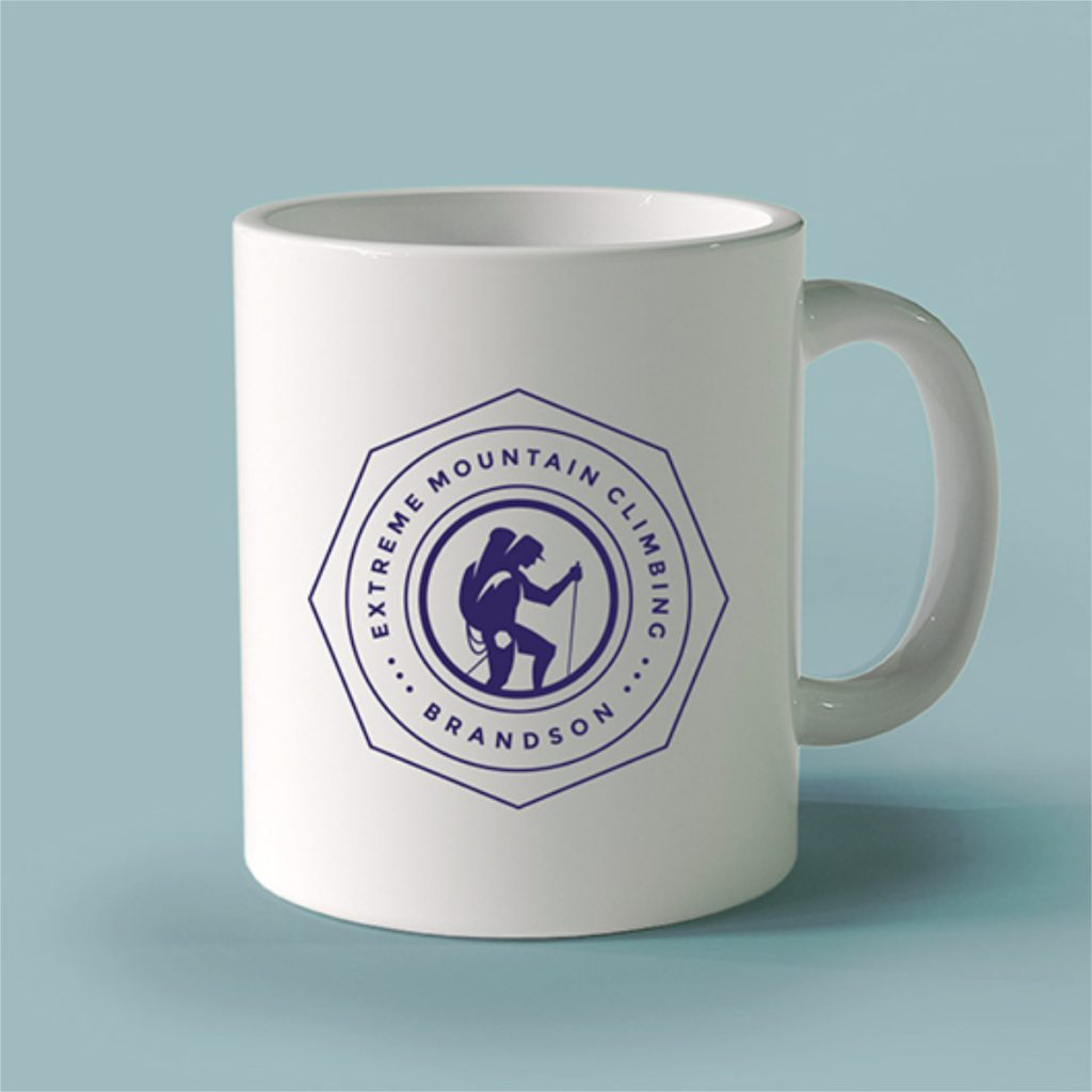 Promotional products branded mugs