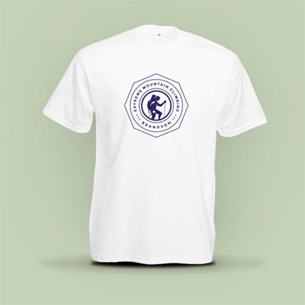 Promotional products branded t-shirts