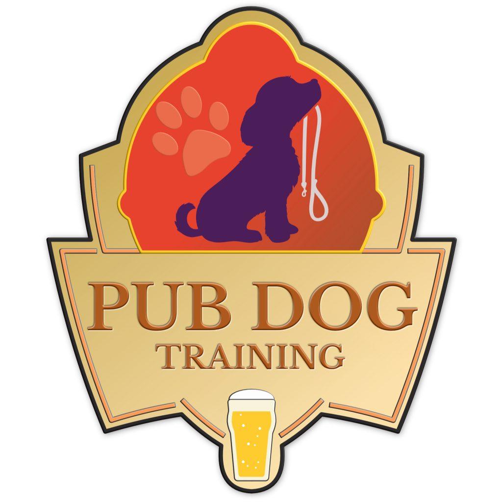 Pub dog training logo